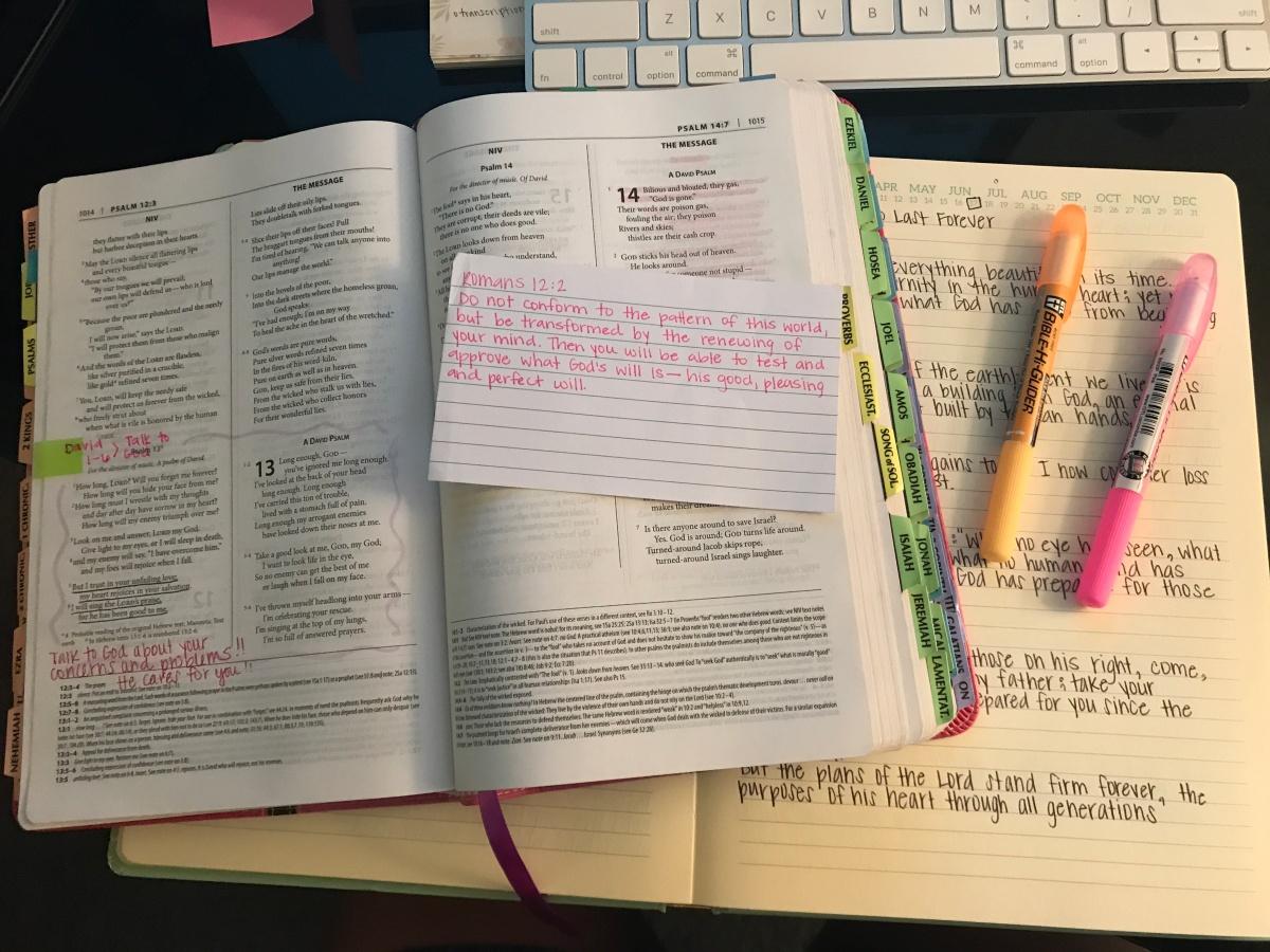Bible Study Supplies andTips