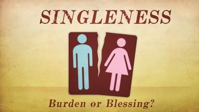 Enjoying your singleness